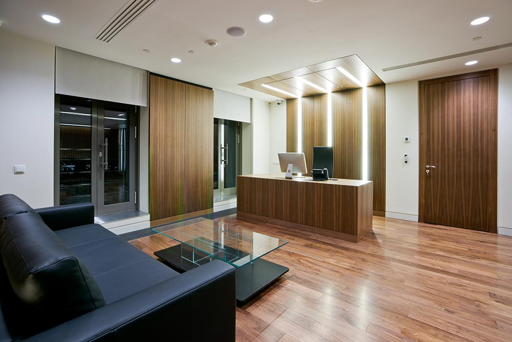 Office interior design construction cardiff swansea south for Office design cardiff